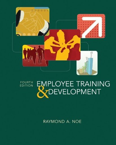 employee training & development by raymond noe epub