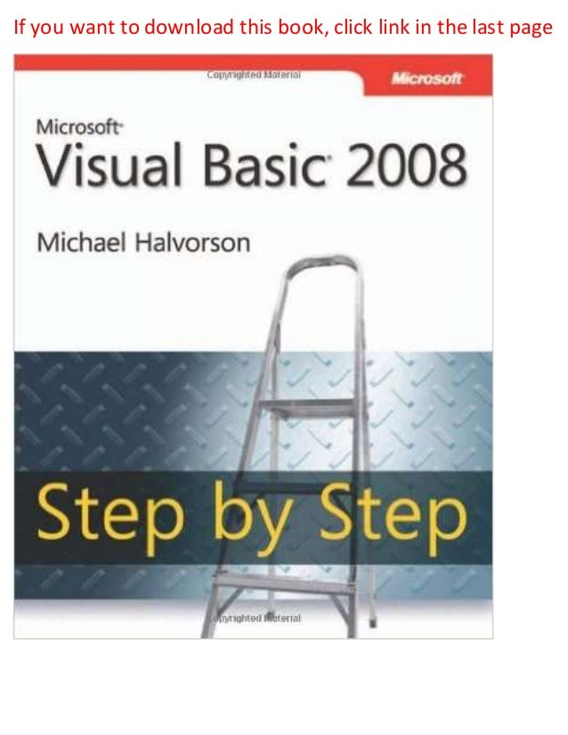 visual studio 2008 pdf ebook download