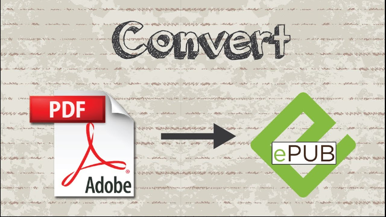 how to convert to epub format
