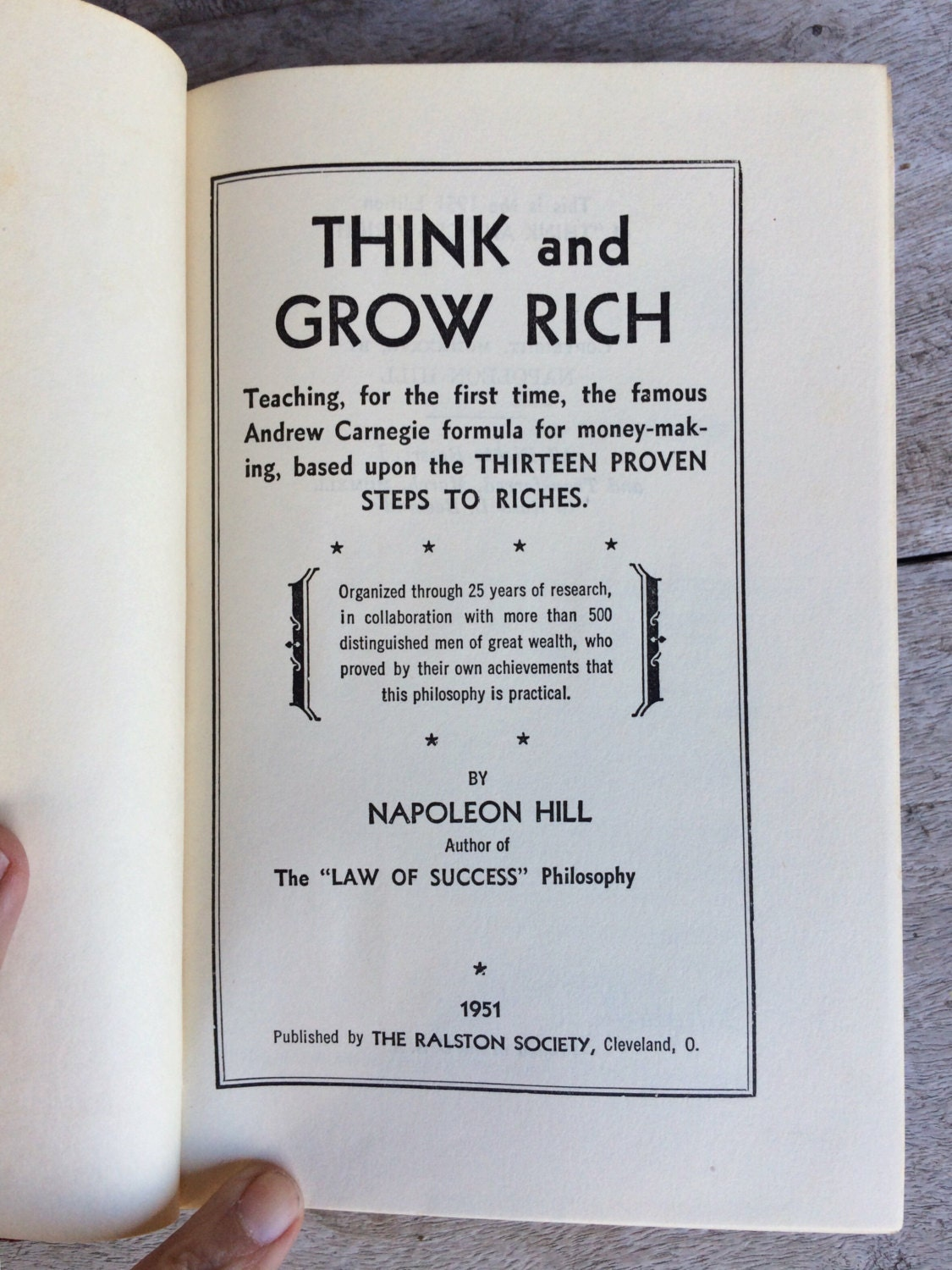 think and grow rich 1937 free ebook