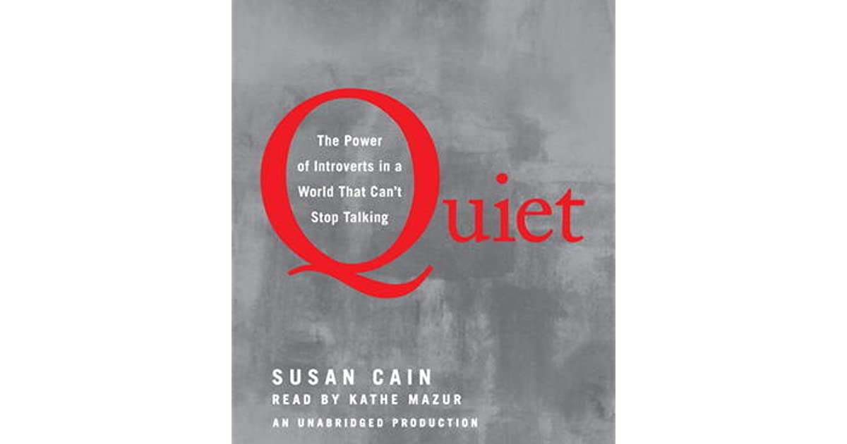 quiet the power of introverts ebook