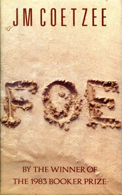 foe by jm coetzee ebook