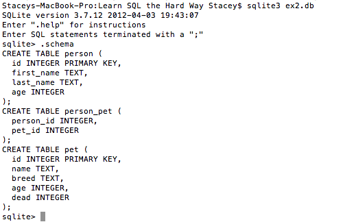 learn sql the hard way epub