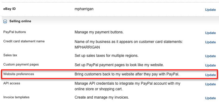 what ebook sites accept paypal