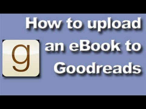 how to upload an ebook