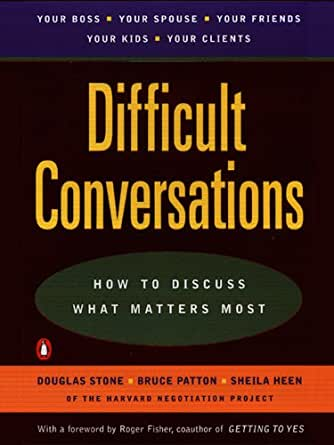 difficult conversations how to discuss what matters most free ebook