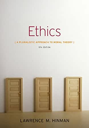 ethics a pluralistic approach to moral theory ebook
