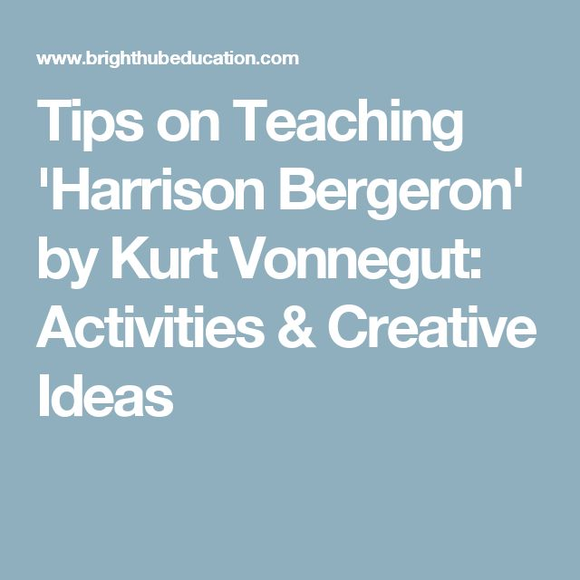 harrison bergeron by kurt vonnegut epub