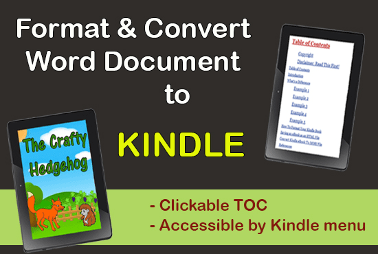 how to convert word to epub