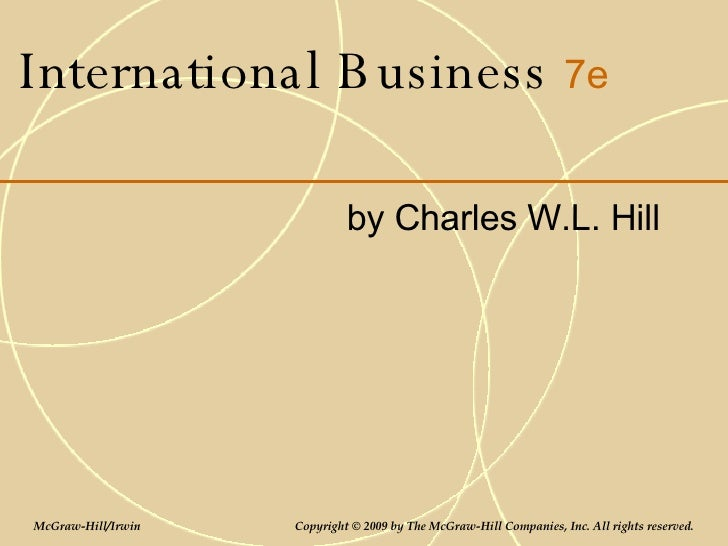 international business charles hill ebook